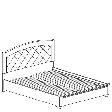 Кровать двойная 1600 Парма 805