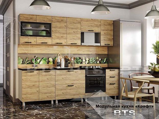 Модульная кухня Крафт