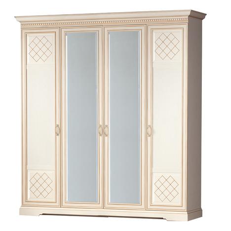 Шкаф для одежды 4-дверный Парма 814